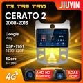 JIUYIN Тип C автомобильный Радио Мультимедиа Видео плеер навигация GPS для Kia Cerato 2 TD 2008 - 2013 Android No 2din 2 din dvd