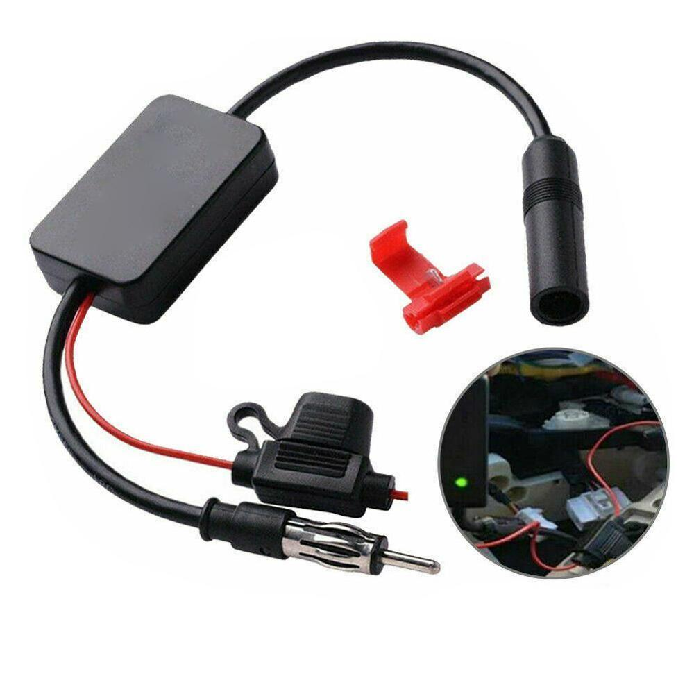 Universal Car Auto FM/AM Booster Windshield Mount Antenna Aerials Automobile Radio Car Amplifier Radio FM Antenna Signal ANT-208
