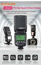 цена на Godox V860II-C V860II-N V860II-S V860II-F V860II-O Camera Flash HSS TTL Li-ion Battery Speedlite for Canon Nikon Sony Oly Fuji