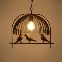 Скандинавские птичьи светильники подвесной светильник для спальни