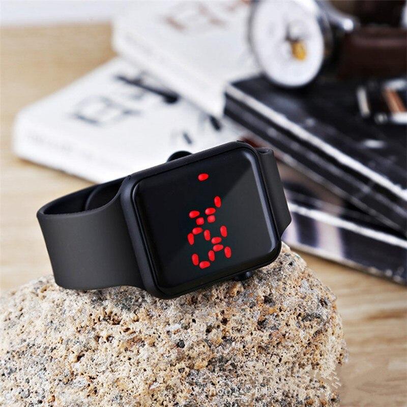 2020 Sport Casual Watches Men Women Led Silicone Watch Lovely Digital Sports Wristwatch Children Clock Bayan Kol Saati 5