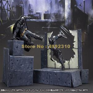 Image 1 - การ์ตูนBat Man Arkham Knightเคลื่อนย้ายได้Action Figure Pvc Collectionของเล่น 23 ซม