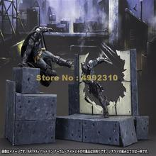 comic bat man arkham knight moveable action figure pvc collection model 23cm Toy