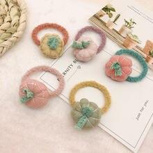 Ins/осенне зимнее кольцо для волос в Корейском стиле; Милый