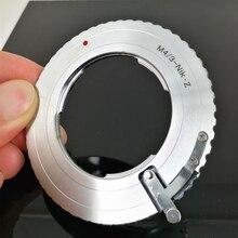 마이크로 4/3 m43 mft 렌즈 및 nikon z z7 z6 카메라 용 M43 Z 렌즈 마운트 어댑터 링