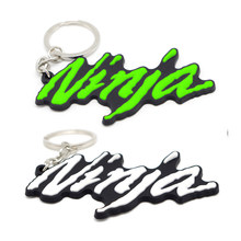 Новинка 2021, кольцо для ключей с мотоциклом, резиновое 3D кольцо для ключей для KAWASAKI NINAJ 300 ninja 400 250 250r 650, чехол для ключей с мотоциклом, Прямая по...