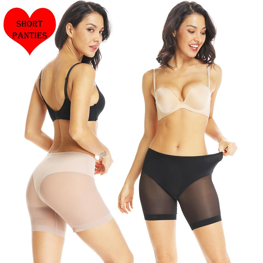 Safety Short Pants Boxer Femme Women Underwear Sexy Lingerie Seamless Underpants Waist Trainer Slimming Panties Female Knickers