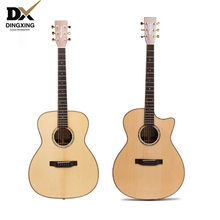 Professional Acoustic guitar All Solid Wood European Spruce top musical Stringed instruments steel string 41 inch guitarra china acoustic guitar 39 inch 6 string guitar missing angle black rosewood fingerboard edge musical instruments professional