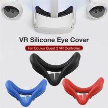 Silikonowa osłona na twarz wymiana obudowy maska na oczy osłona na Pad dla Oculus Quest 2 zestaw do wirtualnej rzeczywistości wirtualnej rzeczywistości twarzy akcesoria do poduszek tanie tanio choifoo Podwójny Other NONE CN (pochodzenie) Lornetka Wciągające Virtual Reality Okulary Tylko dropshipping wholesale