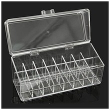 24 Acrylic Makeup Lipstick Storage Display Stand Rack Holder Cosmetic Organizer(China)