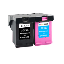 цены 2pk 301XL Cartridge Compatible for hp 301 xl hp301 Ink Cartridge for hp Envy 4500 Deskjet 2630 2540 2510 1000 1050 printer