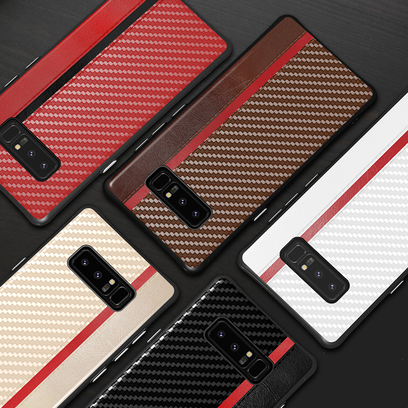 Retro Full Case For Samsung <font><b>Galaxy</b></font> Note 10 Plus S10 S9 S8 <font><b>S</b></font> 8 <font><b>9</b></font> Phone Soft Shell Hard Back Cover For Samsung Note9 Case Note8 On image