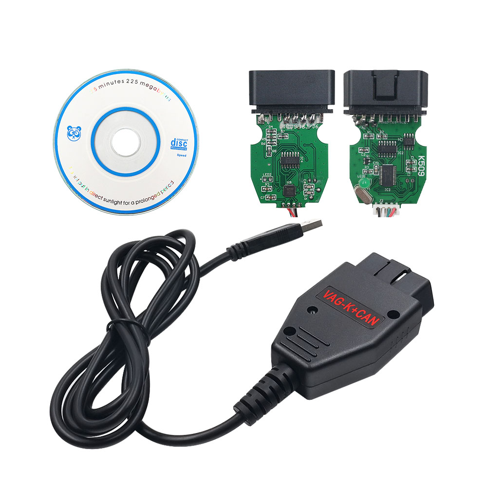 K+CAN Commander 1.4 OBDII Diagnostic Scanner Tool Cable For Golf5 Caddy Q7 EP