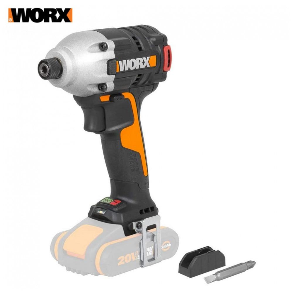Taladro eléctrico Worx WX291.9, herramientas eléctricas, destornillador, taladros, destornilladores, destornillador, impacto sin escobillas de la batería DN25(G1.0