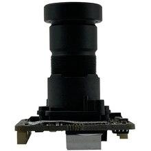 F 1,0 M16 Objektiv Sternenlicht Niedrigen beleuchtung Sony IMX307 + HI3516EV200 3MP 2304*1296 H.265 2,0 MP Alle Farbe mit Kühler ONVIF RTSP