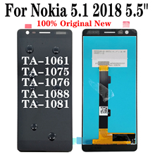 Shyueda 100% Orig New AAA+ For Nokia 5.1 2018 5.5 TA-1061 TA-1075 TA-1076 TA-1088 TA-1081 LCD Display Touch Screen Digitizer snk 161 in 1 multi game pcb neo geo arcade game board snk mvs cartridge for snk jamma arcade machine