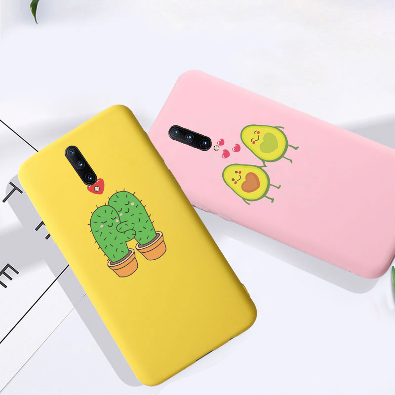 For <font><b>Oneplus</b></font> 7 Pro <font><b>Case</b></font> Cute Cartoon Cat Phone Cover Silicon Coque For <font><b>Oneplus</b></font> 6 <font><b>6T</b></font> 7 7T Pro <font><b>Cases</b></font> Back <font><b>Bumper</b></font> Etui One Plus 7t image