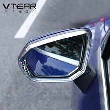 Vtear-espejo retrovisor para Audi Q3 2019 2020 2021, accesorios, ABS cromado, lluvia, ceja, cubierta de visera, modificación Exterior