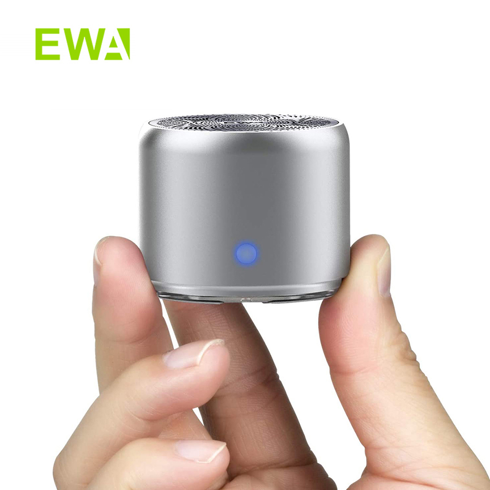 EWA A106Pro MINI Wireless Column Portable Outdoor Loudspeaker Bluetooth Speaker IP67 Waterproof with Travel Case Metal Bass Box|Portable Speakers| - AliExpress