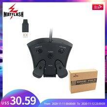 Mayflash Magic Pack Voor PS4 Controller Encoder Fps Adapter Met Mods En Peddels Voor PS4