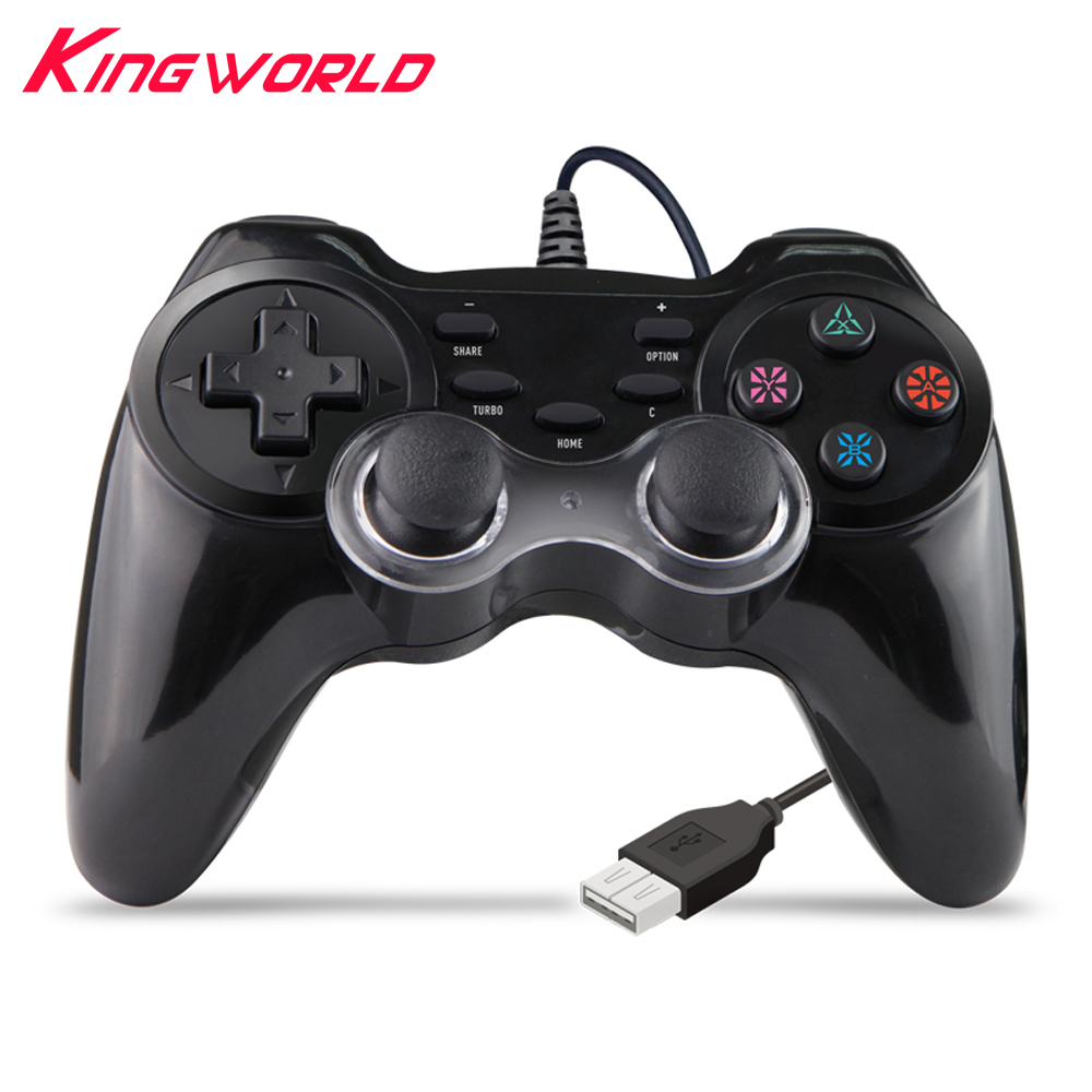 10pcs Wired Gamepad Multi Game <font><b>Controller</b></font> Joystick For <font><b>PS4</b></font> / PS3 For PC 360 with <font><b>Turbo</b></font> function image