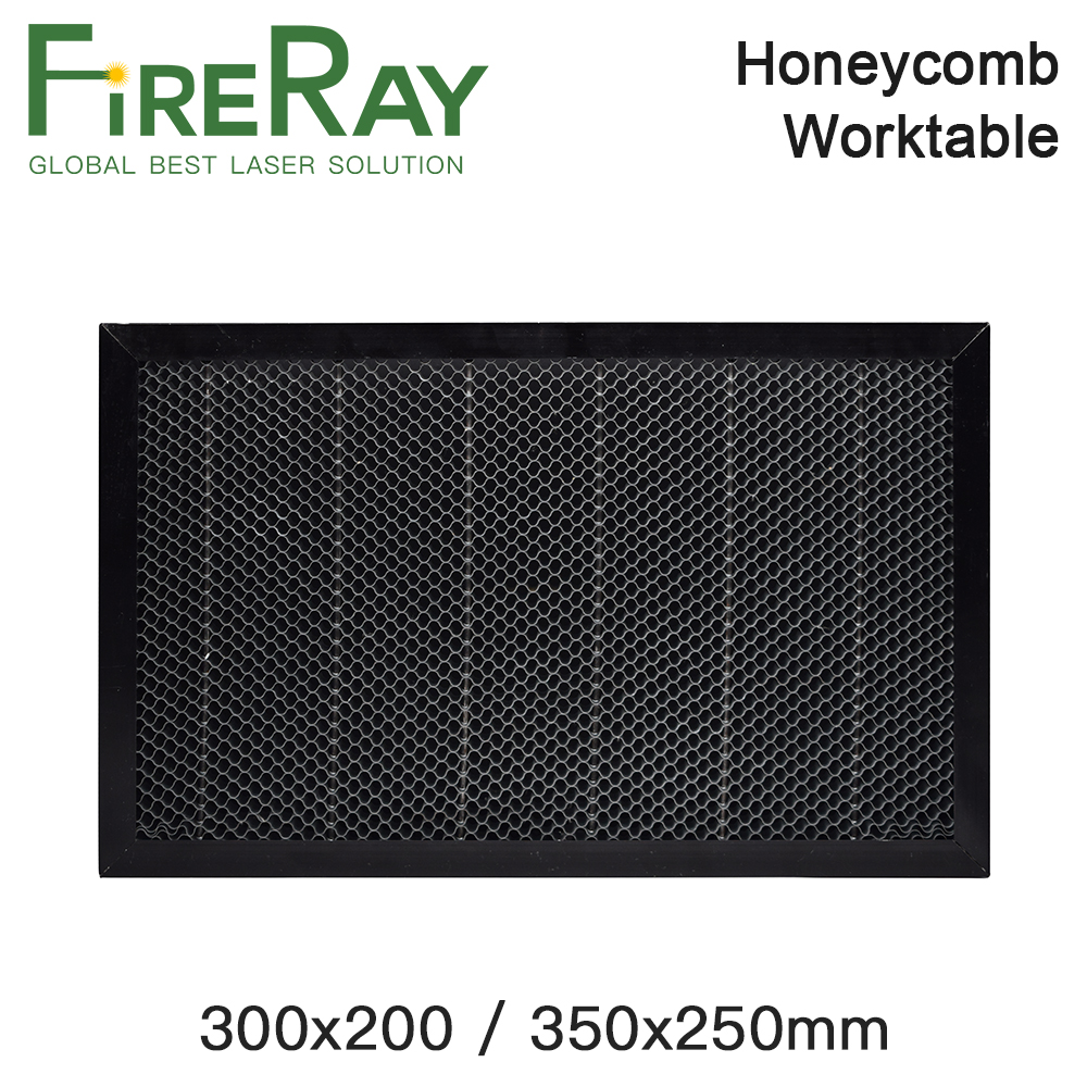 Fireray 300x200mm 350x250mm Laser Honeycomb Working Table Board Platform Laser Parts For CO2 Laser Engraver Cutting Machine
