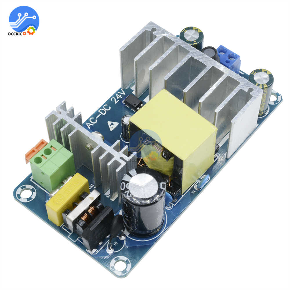 Power Supply Module AC 110v 220v To DC 24V 6A To 8A AC-DC Switching Power Supply Board 6A-8A 50HZ/60HZ 100W