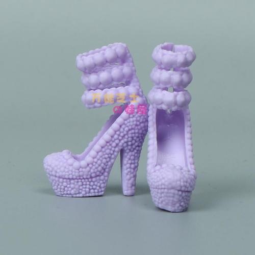 1/6 Doll Accessories Fashion Sneaker Flat Shoes Genuine Sandals Shoeshigh-heeled shoes for Barbie Doll Shoes 5