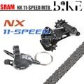 SRAM NX 1X11 11 скоростной MTB велосипедный групповой набор маленький комплект правый переключатель рычага переключения передач задний дисковод & ...