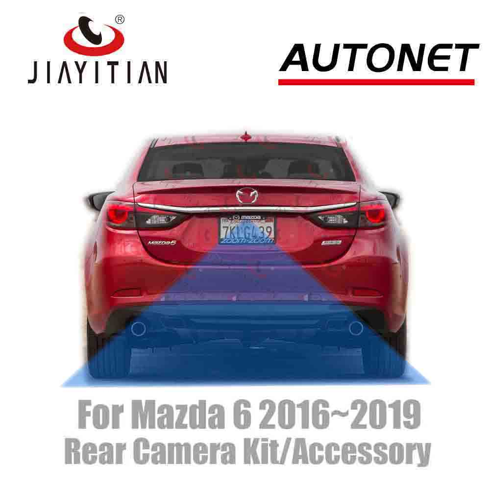 JIAYITIAN Rear View Camera Connection Cable For Mazda 6 /ATENZA/ 2015 2016 2017 2018 2019 Kit With Factory Monitors Head Unit