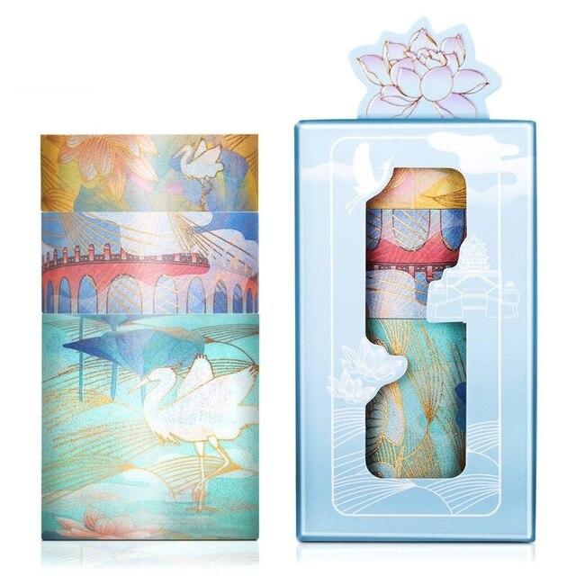 3pcs Summer Palace Paper Washi Tape Set Original Chinese Luxury Style Adhesive Masking Tapes for Lipstick Diary Sticker DIY 6330 2
