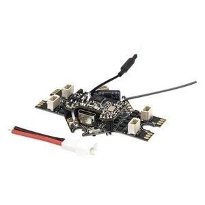 Parte interna do zangão de emax tinyhawk ii-controlador de vôo de aio/emax minúsculo vtx/receptor para o zangão de corrida de fpv