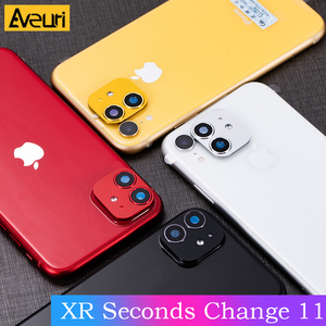 Image 2 - For iPhone XR Seconds Change For iPhone 11 Lens Sticker iPhone11 Luxury Metal Alumium Protector Cover Camera Protective Cover