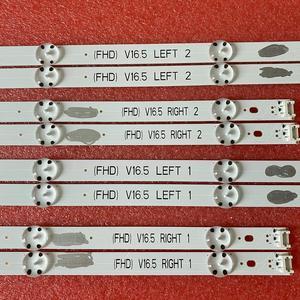 Image 5 - 8 قطعة/المجموعة LED شريط إضاءة خلفي ل LG 49LJ58300W 49UH603V 49UH620V 49LW340C 49LW340H 49LF5400 49LF5100 49LX300C 49LW55S 49LW541H