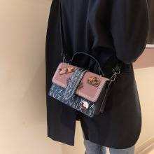 Small Bags Women 2019 New Fashion Crossbody Bag Vintage Square Shoulder Ladies