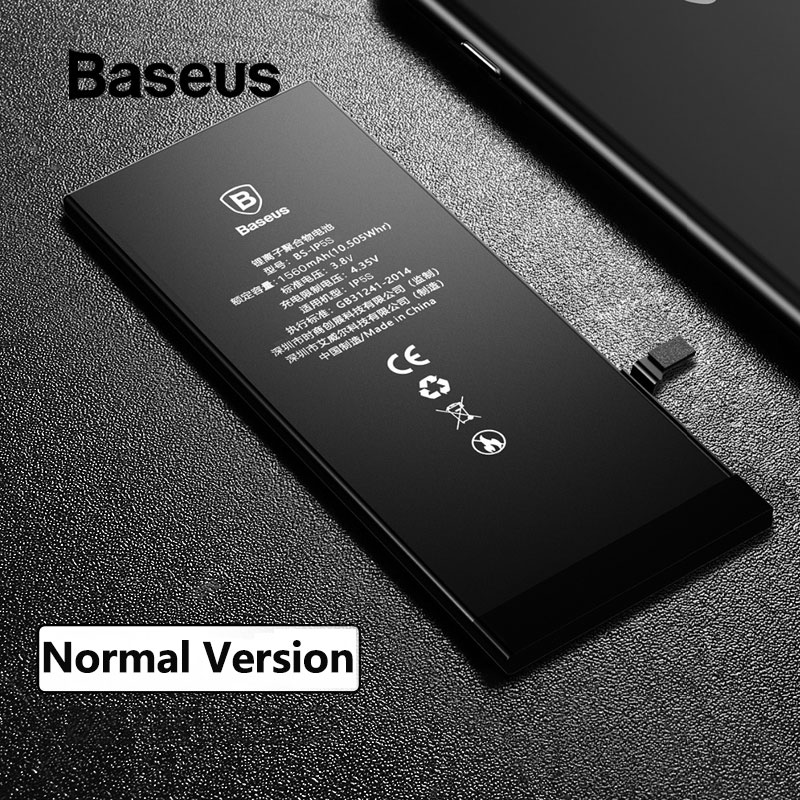 Baseus For <font><b>iPhone</b></font> <font><b>5s</b></font> 6 6s 7 <font><b>Battery</b></font> Replacement <font><b>Batteries</b></font> with Free Installation Tools Kit Internal Bateria For <font><b>iPhone</b></font> <font><b>5s</b></font> 6 6s 7 image