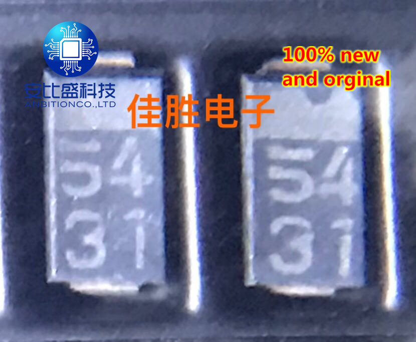 25pcs 100% New And Orginal RSX201L-30 2A30v Ultra Low Dropout Schottky Diode DO214AC Silkscreen 54  In Stock