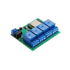 Image 5 - ESP32 4 チャンネル wifi bluetooth リレーモジュール eu ce 電源、米国の ul アダプタ充電 ttl コンバータモジュールアンドロイド ios 用