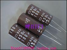 10pcs NEW NIPPON KXG 450V100UF 18x35MM NCC electrolytic Capacitor 100UF 450V CHEMI-CON kxg 450v 100uf