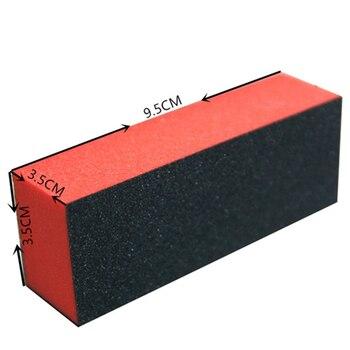 Топ долговечная Губка пилочка для ногтей белый шлифовальный буферный блок акриловый блок для ногтей Маникюр Педикюр Инструмент для ногтей Пилки для ногтей и буферы      АлиЭкспресс