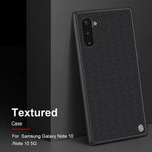 Voor Samsung Galaxy Note 10 + Pro Nillkin Geweven Luxe Nylon Fiber Cover Case voor Samsung Note 10 note 10 Plus 5G case