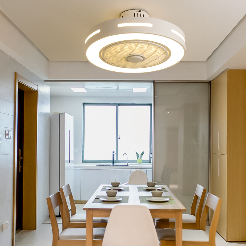 Modern Ceiling Fan With Lights Remote Control Ceiling Fans LED Lamps For Dining Room Bedroom AC 220V Indoor Light Fixtures