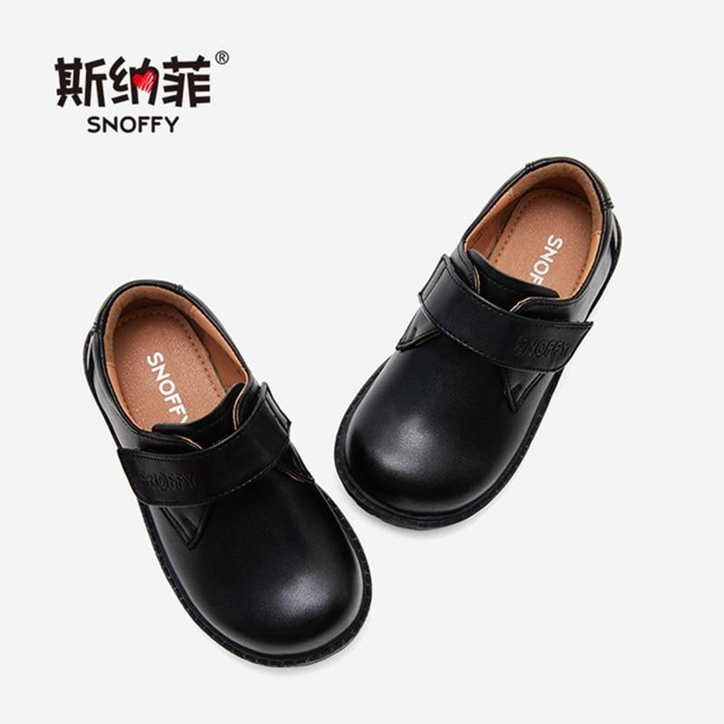 2019 outono criancas sapatos de couro genuino para meninos sapatos de festa preto criancas meninos marca