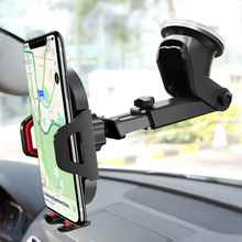 Car Phone Holder Windshield Mount For iPhone XR X 8 7 Air Vent Mobile Suporte Celular Stand