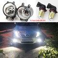Противотуманный светильник s для Toyota Corolla Camry Ractis 2003-2014, светодиодный галогенный противотуманный светильник s для Avensis Verso, головной светильни...