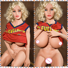 Sex Doll Big Breasts Ass Sexy Girl Full Silicone Doll with Metal Skeleton Realistic Vagina 3 Holes Men Sex Toys lovedoll