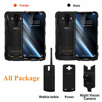 DOOGEE S90 S90 Pro Cellphone IP68 IP69K Rugged Mobile Phone 6.18 inch IPS Display 5050mAh MT6771 Octa Core 6GB 128GB Android 8.1