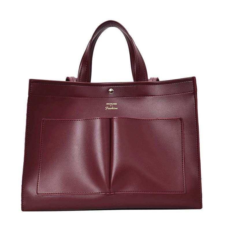 NEW 2019 big Women Handbag Leather Women Shoulder Bags Designer Women Messenger Bags Ladies Casual Tote Bags sac a mainShoulder Bags   -