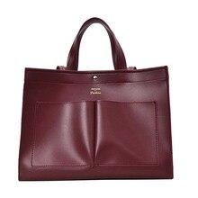 Nowy 2019 duże torebki damskie skórzane damskie torebki na ramię projektant kobiet Messenger torby damskie Casual duże torba z rączkami sac a main