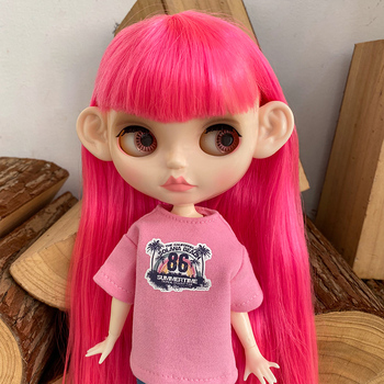 цена на Free Hands Set Blyth Doll Customized NBL Shiny Face,1/6 BJD Ball Jointed Doll Custom Blyth Dolls for Girl, Gift for Collection